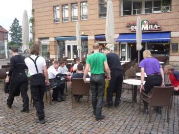 2010-06-30 IJsjes eten in Bad Bentheim